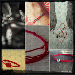 collage red strigs