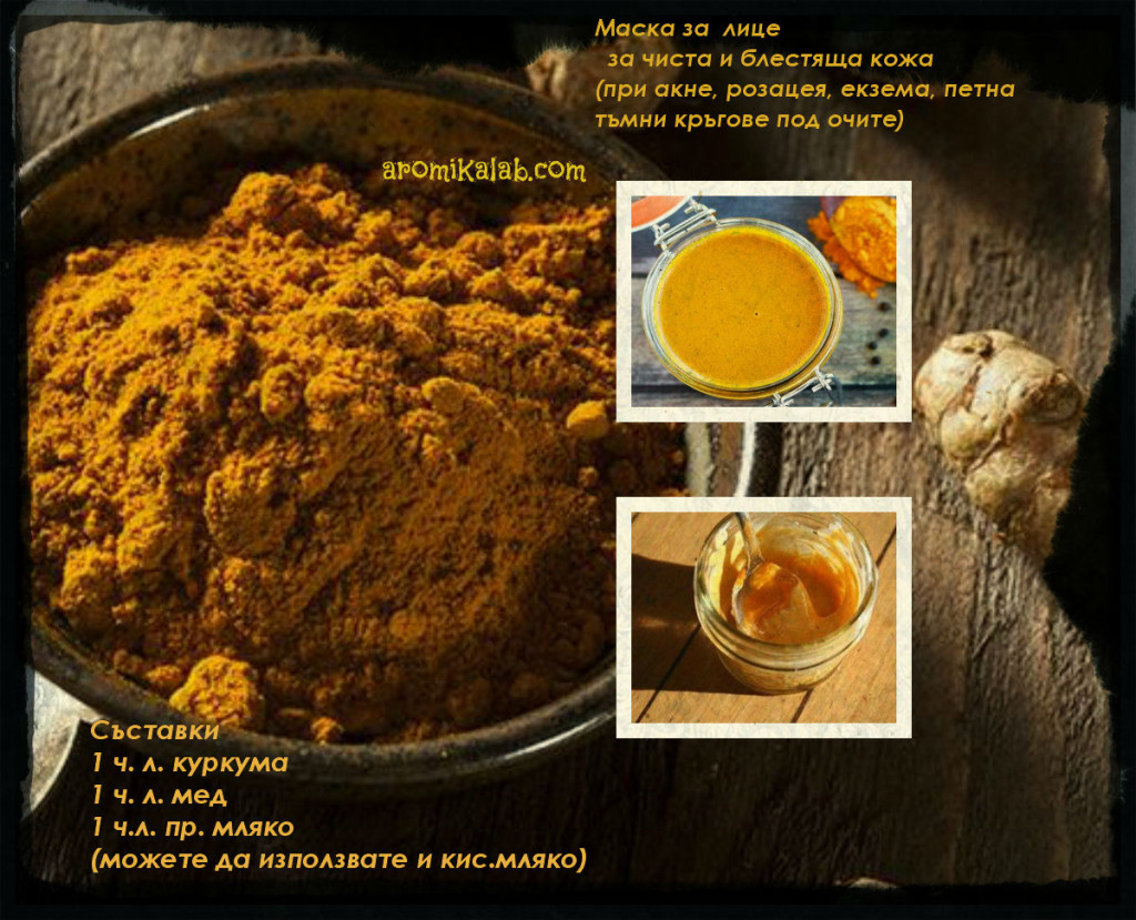 collage turmeric mask1