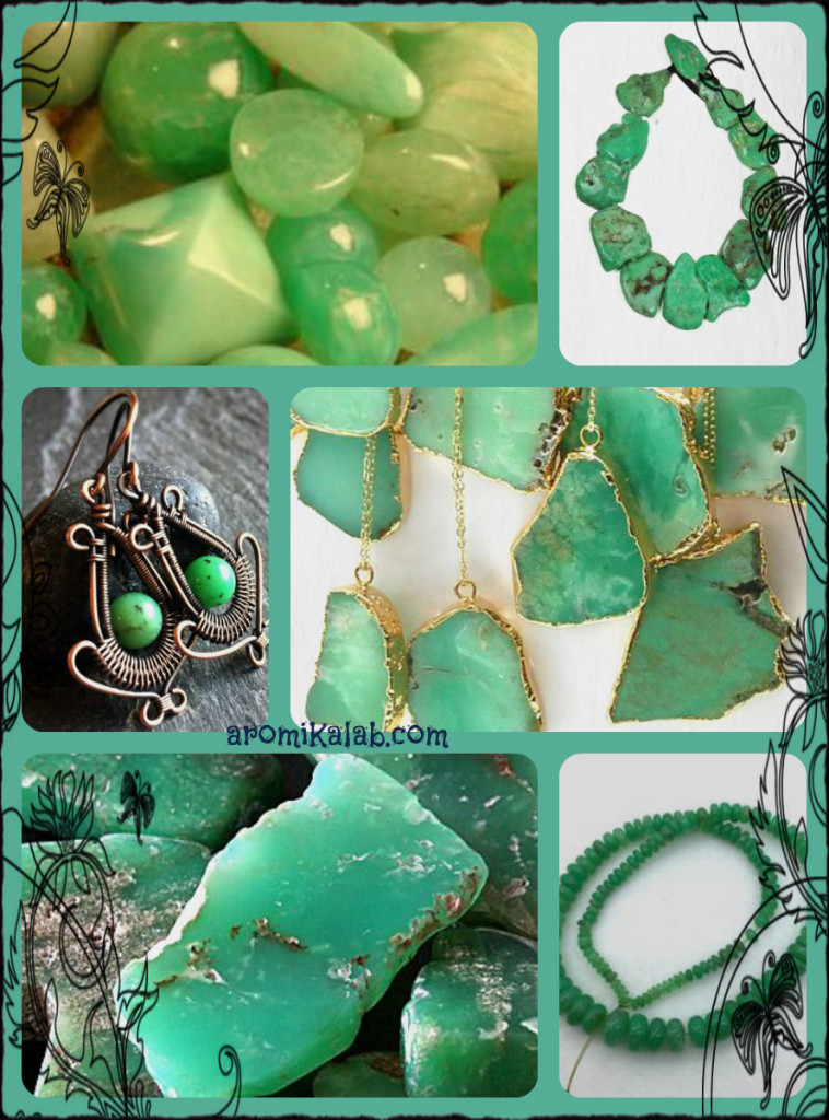 collage chrysoprase