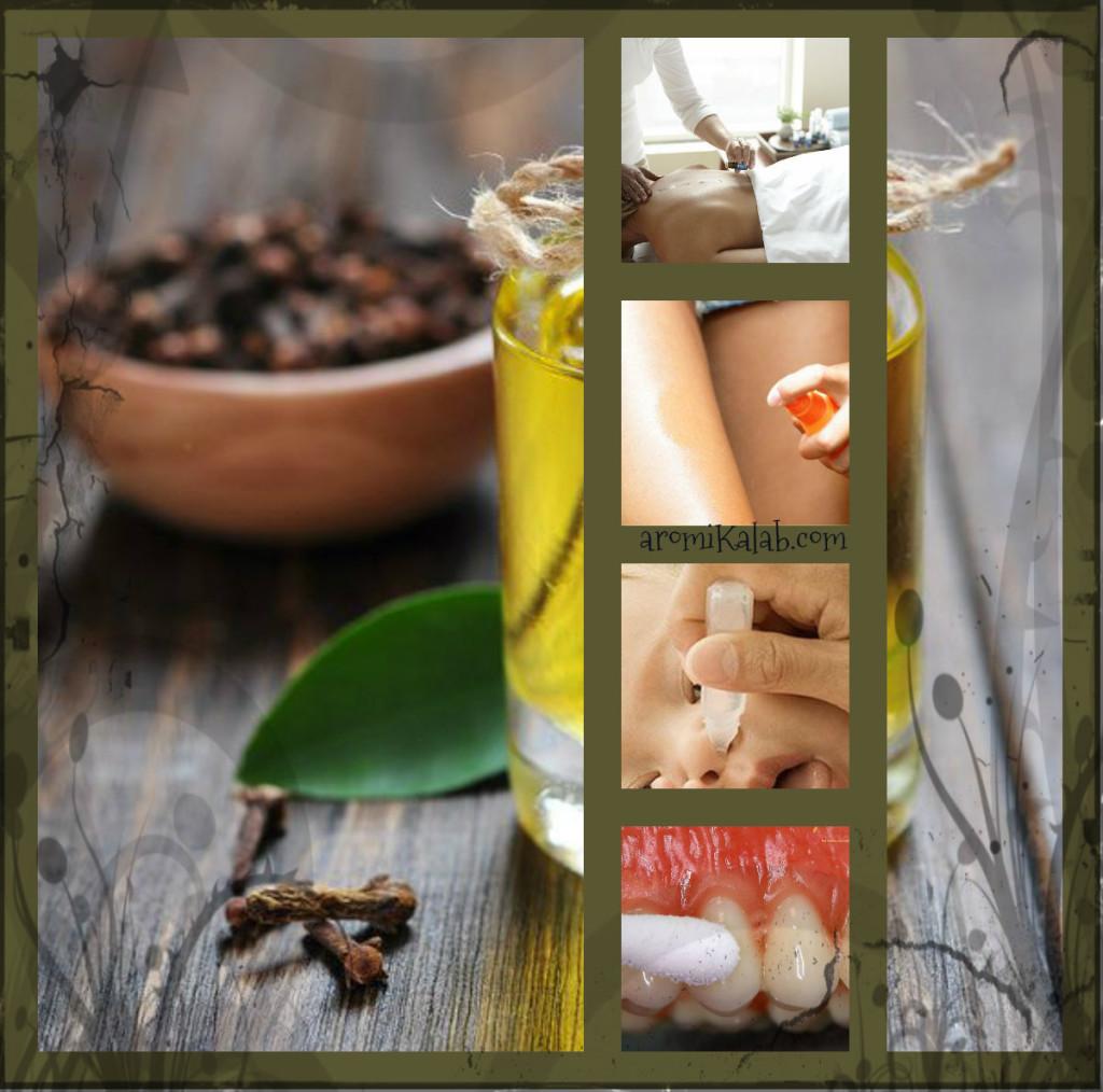 collage clove oil recepies