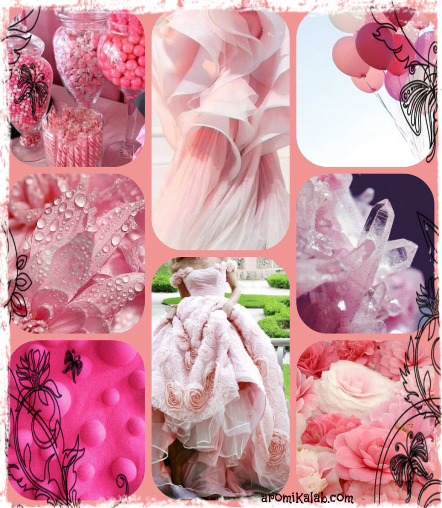 collage pink